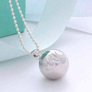 happy hands harmony ball necklace