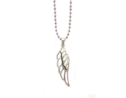 guardian angel wings pregnant necklace jewellery