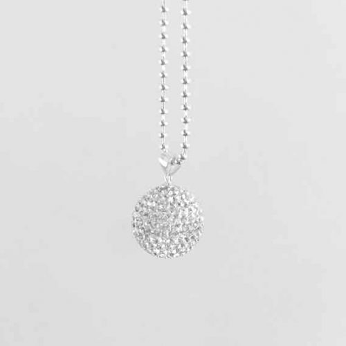 luxe diamonte harmony ball pregnancy pendant keepsake
