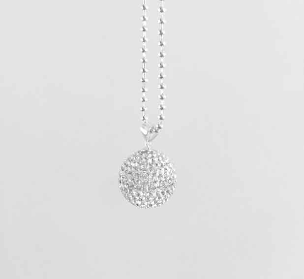 luxe diamonte harmony ball pregnancy pendant keepsake