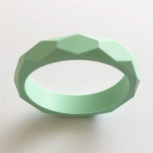 silicone teething bracelet brisbane mint