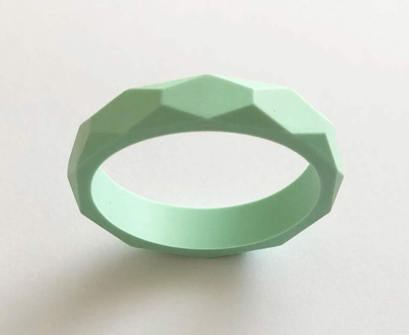 silicone teething bracelet brisbane mint