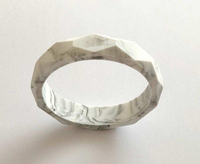 silicone teething bracelet sydney marble 1
