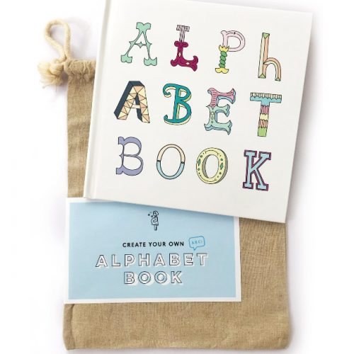alphabet book baby child first keepsake book