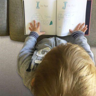 baby book keepsake gift baby shower first alphabet book