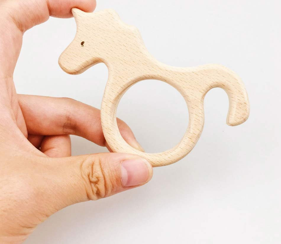 Natural Wood Teethers
