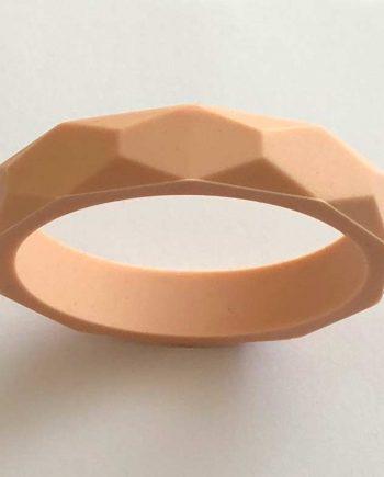 silicone teething bracelet pink blush australia