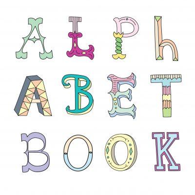 baby first alphabet book keepsake newborn unique