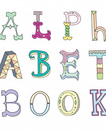 baby first alphabet book keepsake newborn unique