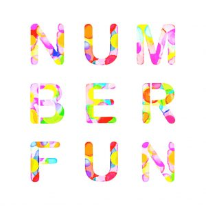 number fun personalize baby book gift