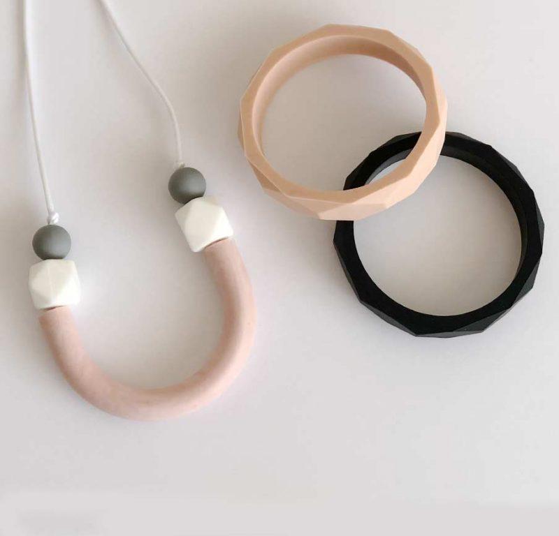 silicone teething necklace australia