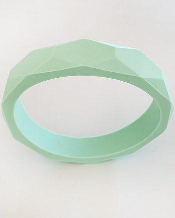 silicone bracelet mint green 1