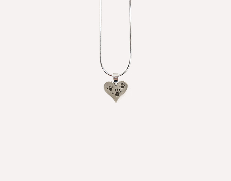 twin pregnancy gift necklace