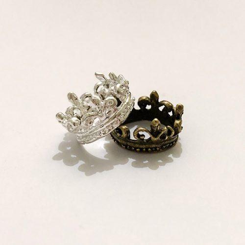 baby girl princess charm crown charm pendant