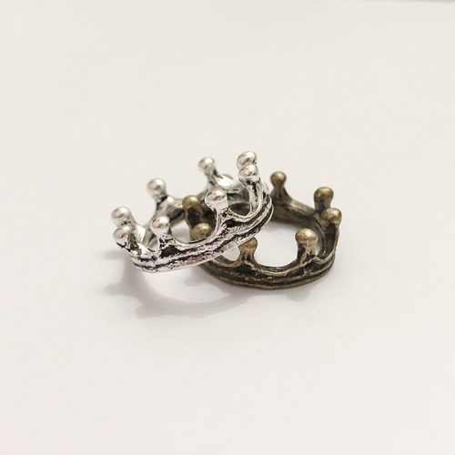 newborn baby boy male crown pendant charm