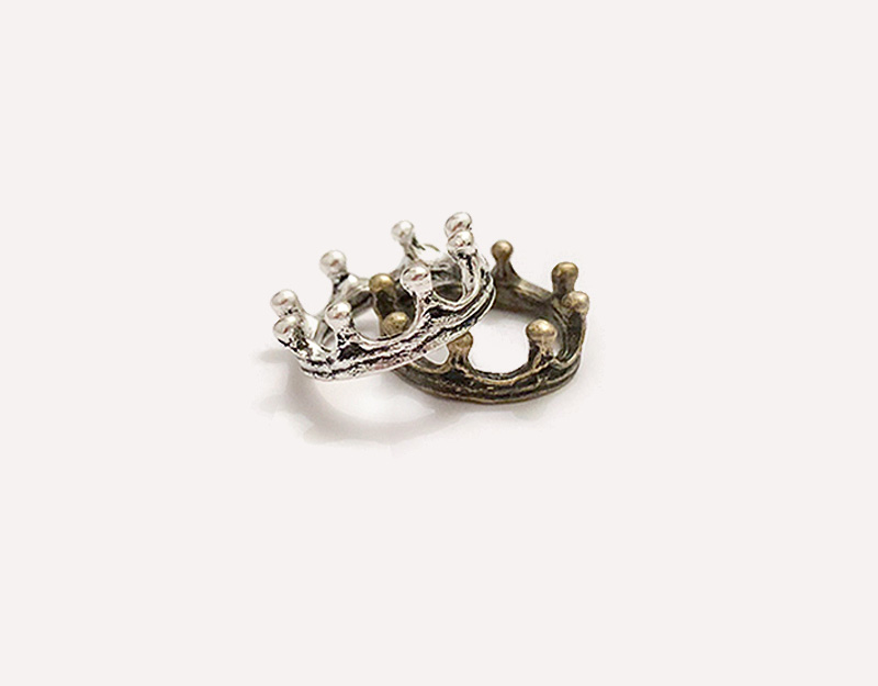 prince crown baby boy pregnant necklace
