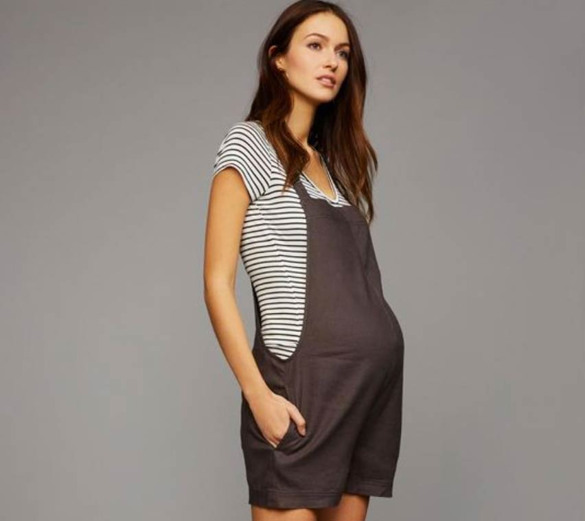 casual maternity clothes linen overalls