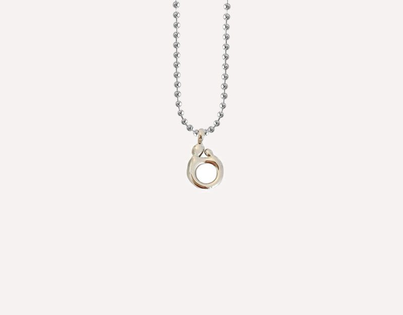 mother newborn baby infinite love charm