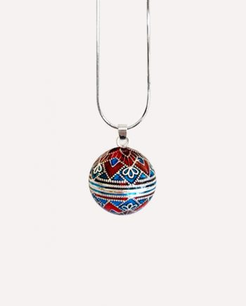 bell harmony ball colourful bola pendant