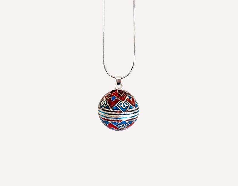 bell harmony ball colourful bola pendant