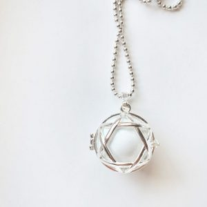 star locket harmony ball silver chime ball pregnancy