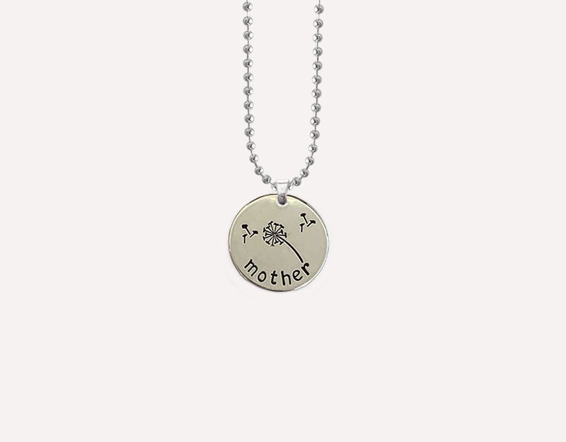 mother charm for necklace mum to be