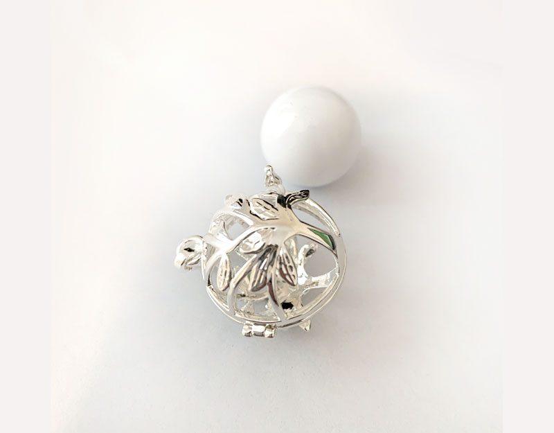 tree of life locket cage pendant