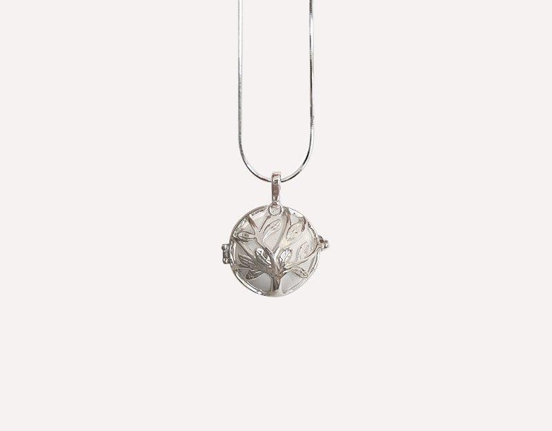 tree of life necklace pendant harmony ball chime 1