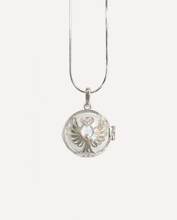 guardian angel necklace pendant pregnant maternity 1