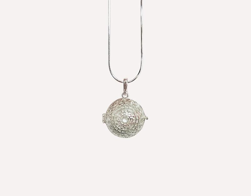 boho necklace pendant maternity style