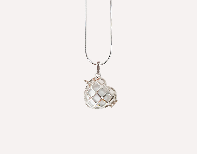 love heart locket harmony ball