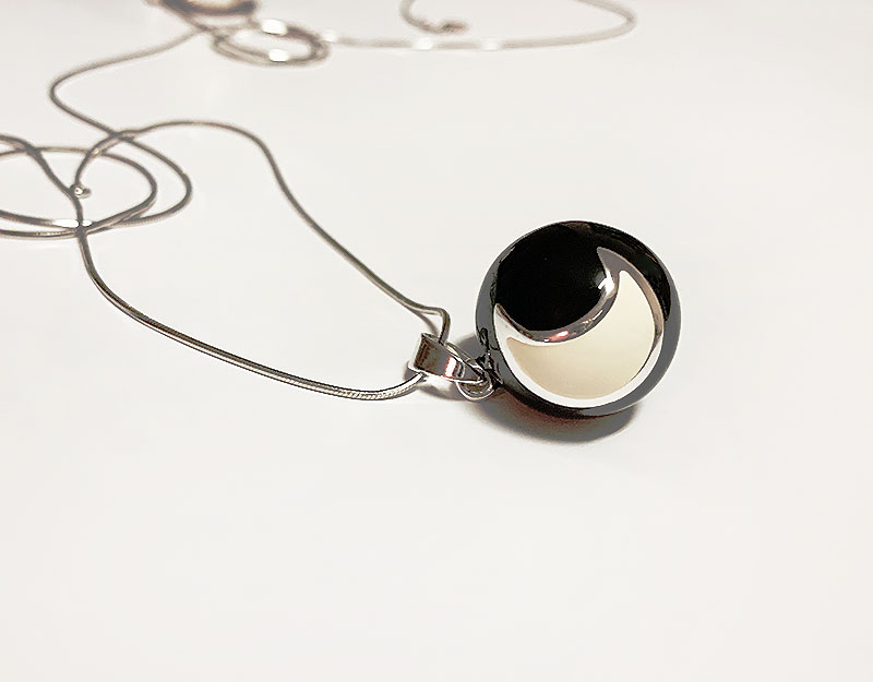 moon necklace pendant australia