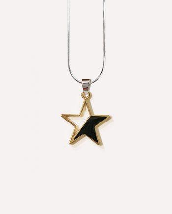 duotone star pendant black